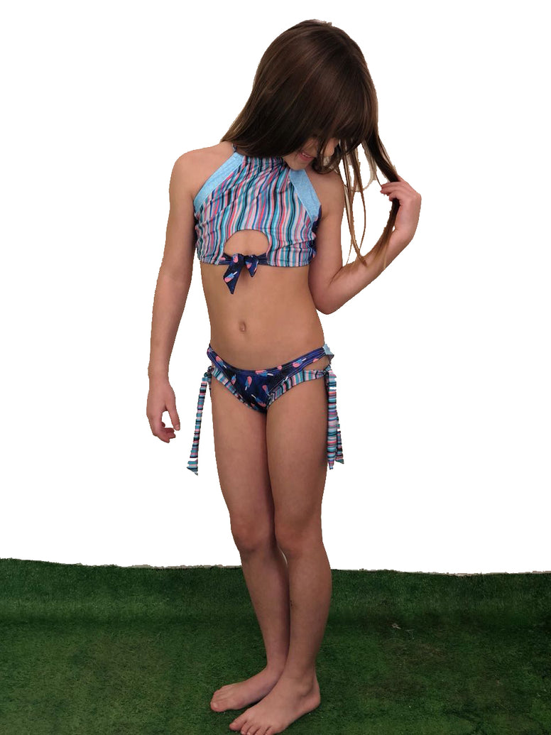 Midnight Tropics Riviera Top