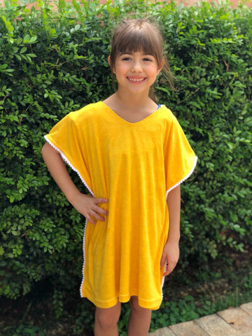 Yellow Towel Kaftan
