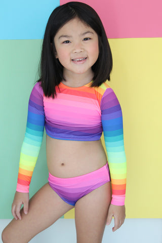 Venice Rainbow Long Sleeve Bikini