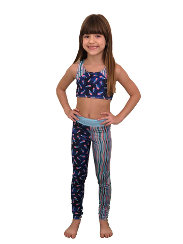 Midnight Tropics Legging Pants