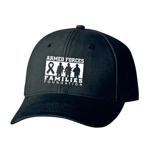Armed Forces Family Foundation Black CAP