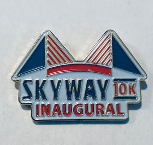 Skyway 10k Pin