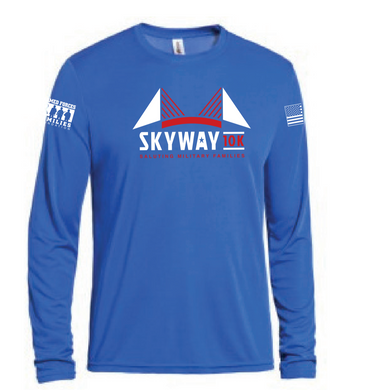 Unisex Skyway 10K Crew Neck Long Sleeve Expert Tee - Moisture wick
