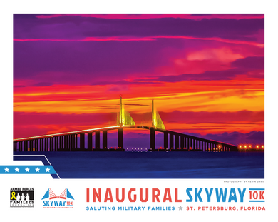 Skyway 10K Commemorative Poster