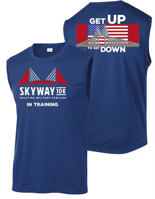 Unisex Skyway 10K In Training Sport Tek Tank
