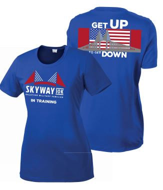 Women's Skyway 10K In Training Short Sleeve Sport Tek Tee