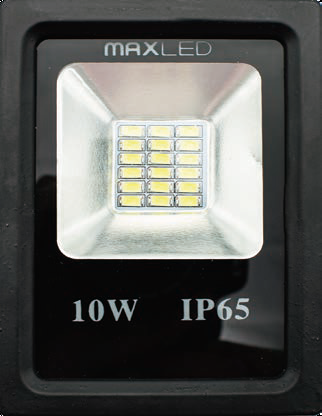 PROJETOR LED 10W 800LM 6400K IP65 230V AC