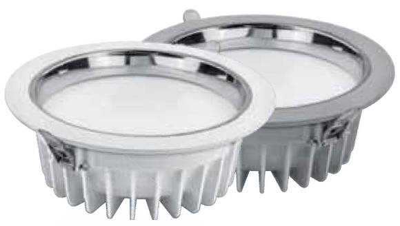 DOWNLIGHT LED ALUMINIO BLANCO 230 V PREMIUM