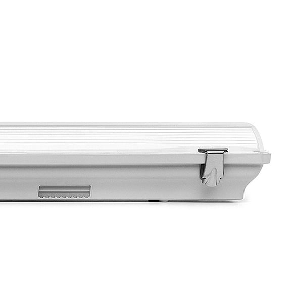 ARMADURA LED ESTANQUE IP65 PARA 1 OU 2 TUBOS T8 LED 230V AC