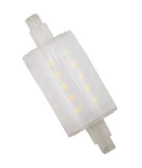 LÂMPADA LED R7S 78mm Ra>80 5W 450LM AC 220-240V LOW COST