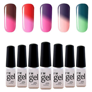 Nail polish - Color changing with temperature - Fancy Nails