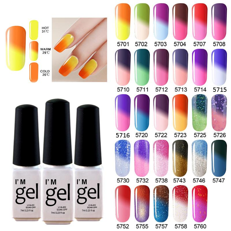 Nail polish - Color changing with temperature – Fancy Nails