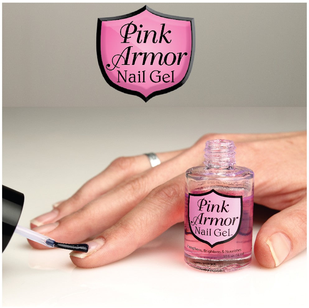 Pink Armor Nail Gel® – Fancy Nails
