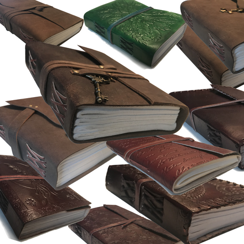 HAND CRAFTED GENUINE LEATHER JOURNALS FOR THE AGES