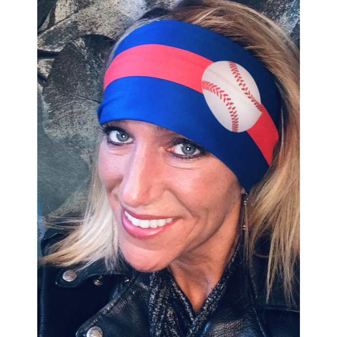 Womens biker bandanas for baseball fans (Cubs, Rangers)