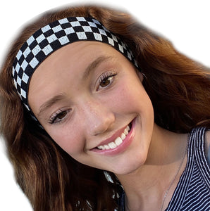 It's Ridic! Checkered Flag Race Fan Retro Headband
