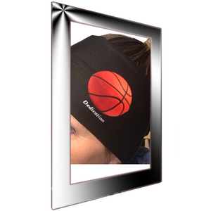 Womens biker bandanas for basketball fan