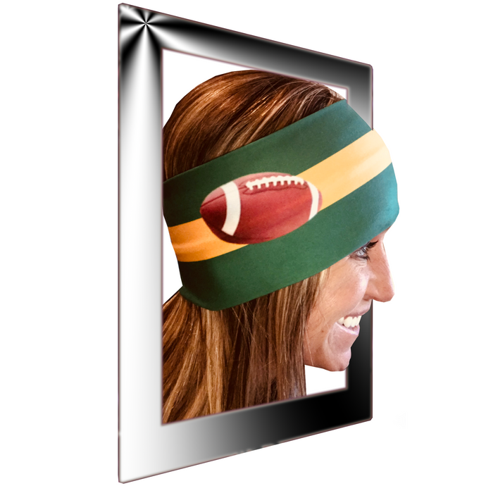 Womens biker bandanas for football fan (Packers)
