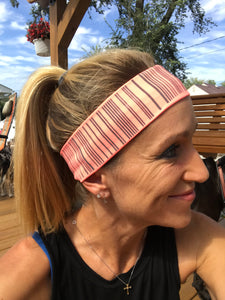 IT'S RIDIC! No Slip Grip/Non-Slip Sports/Athletic Nylon Wide Sports Headband and sweatband