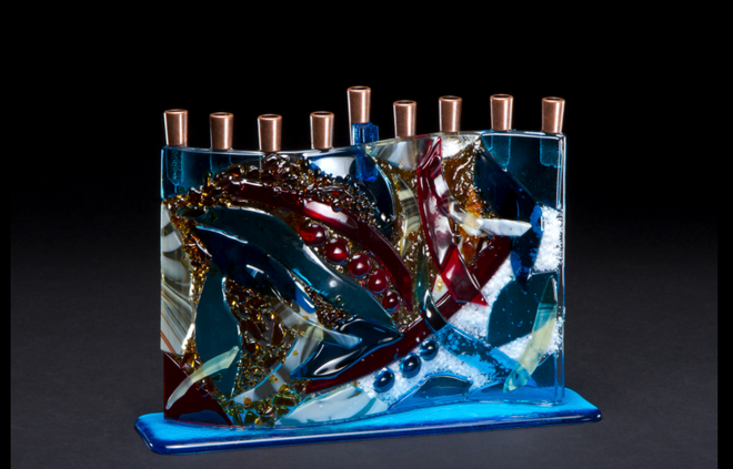 Glass Designs by Daryl Cohen