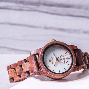Tense Watches are made from Wood and look great!