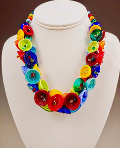 Multi Color Pod Necklace