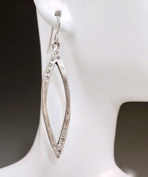 Studio 54 Silver Earrings
