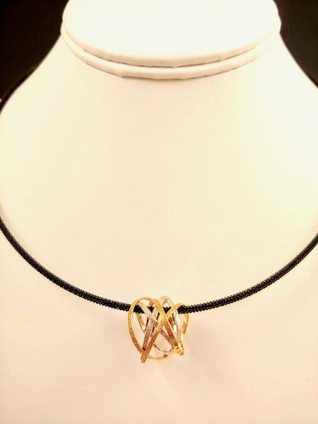Vermeil  Mobius Necklace