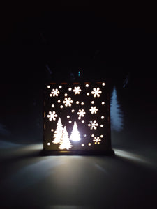 Trees Wood Luminary