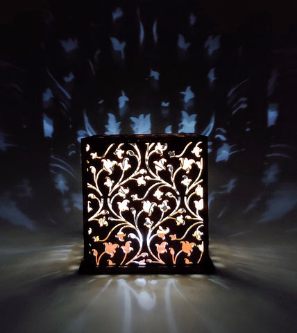 Vines Wood Luminary