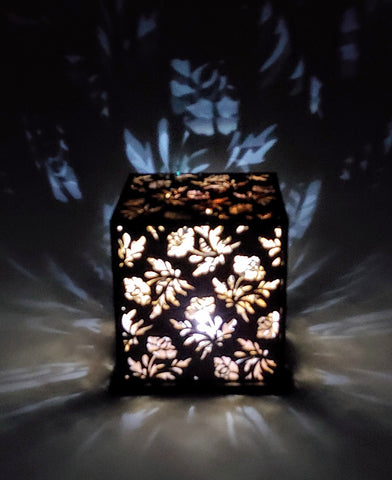 Roses Wood Luminary