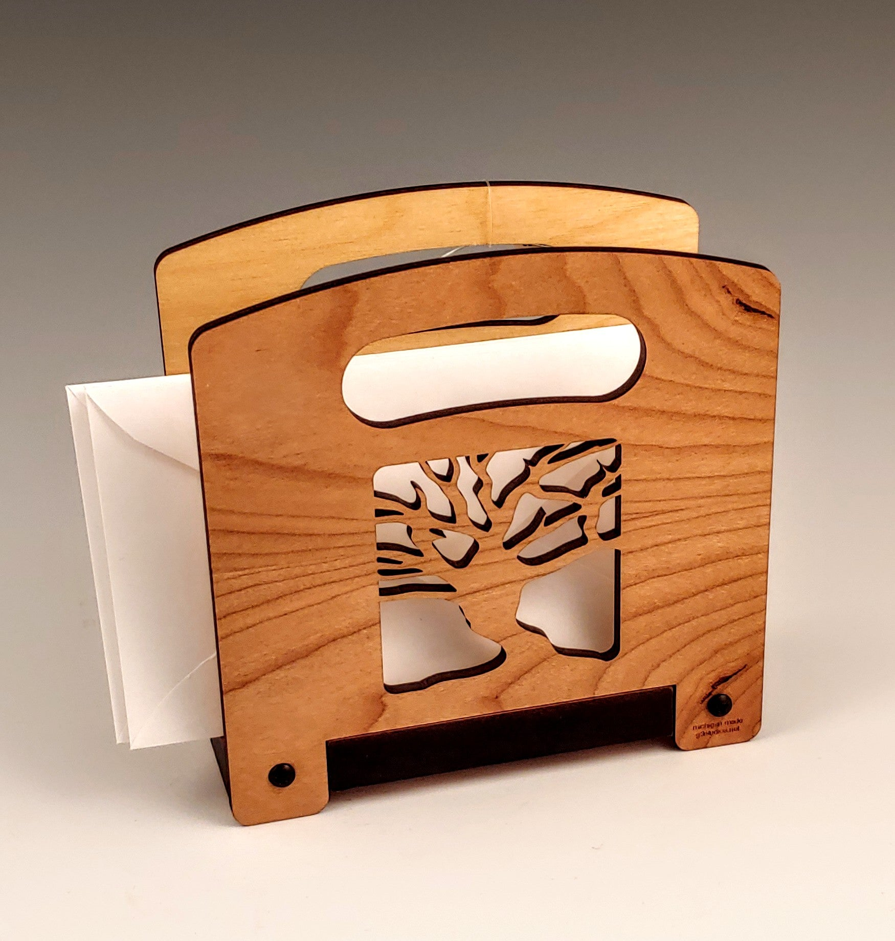 Tree Wood Napkin Holder