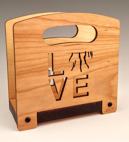 Love the Finger Lakes Wood Napkin Holder