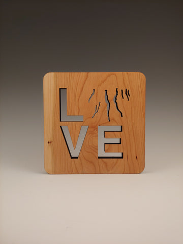 Love the Finger Lakes Wood Trivet
