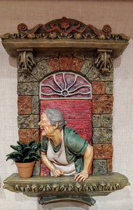 """Herbalist"" Window Sculpture"