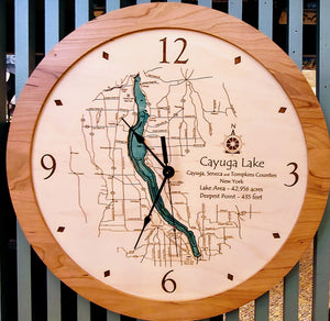 Cayuga Lake Clock