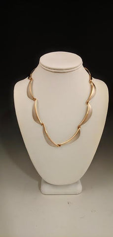 Mixed Metal Matte Necklace