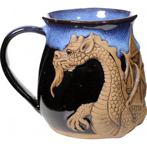 Blue Winged Dragon Mug