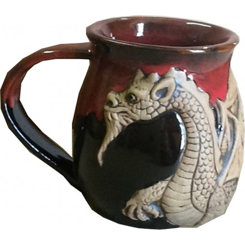 Red Winged Dragon Mug