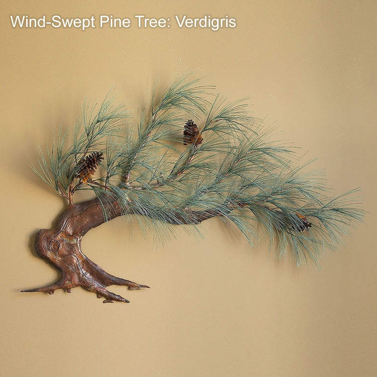 Windswept Pine Wall Sculpture