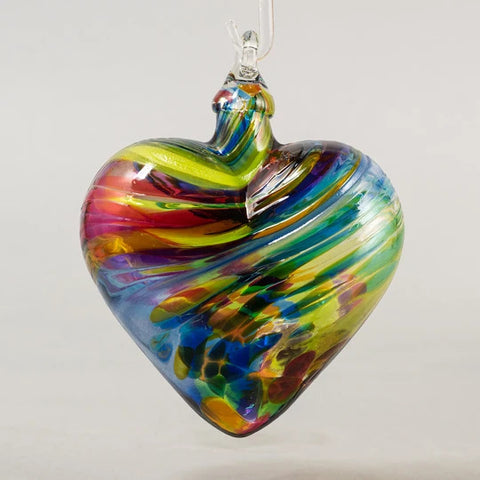 Classic Heart Ornament Set