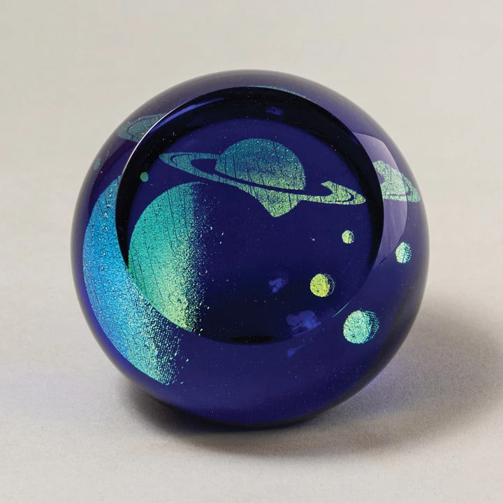 Rings of Saturn Paperweight