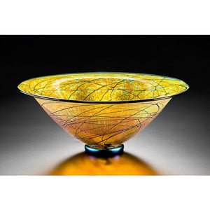 Small Gold Luster Bowl