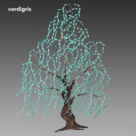 Vertigris Willow Tree Wall Sculpture
