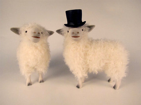 "Cotswold Sheep ""Bride & Groom"""