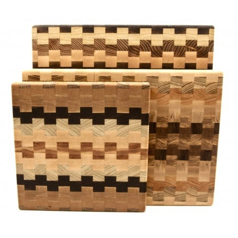 Square End Grain Cutting/Serving Board