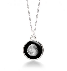 MoonGlow Waning Gibbous  Necklace