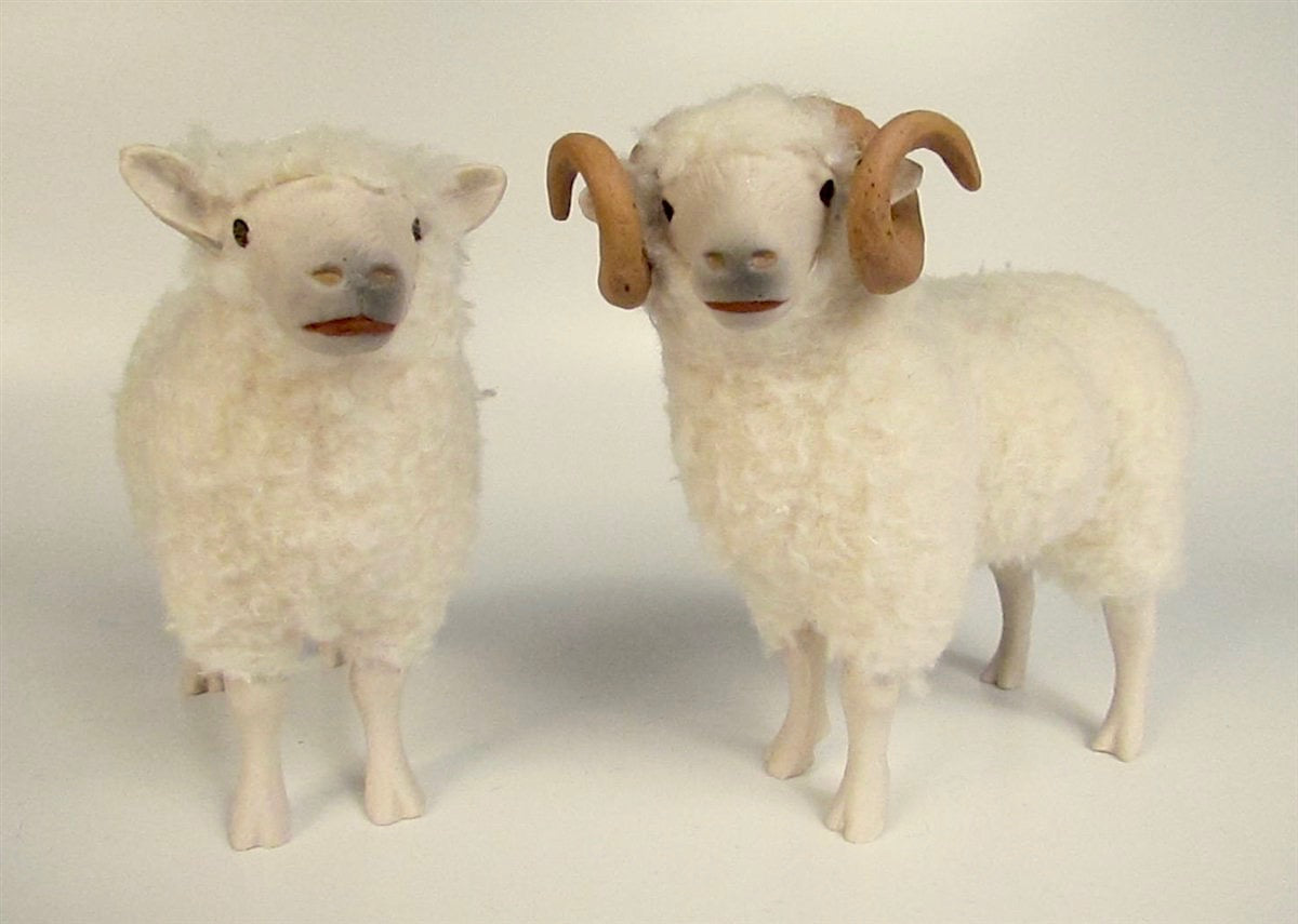 "Shetland Sheep ""Bride & Groom"""