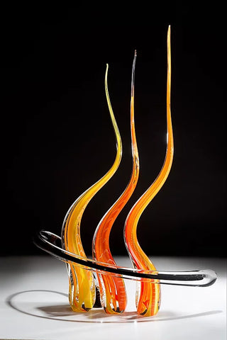 Revolution Glass Sculpture
