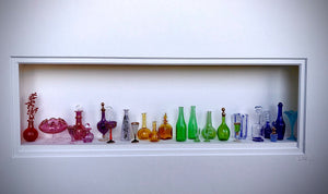Glass Still Life Diorama